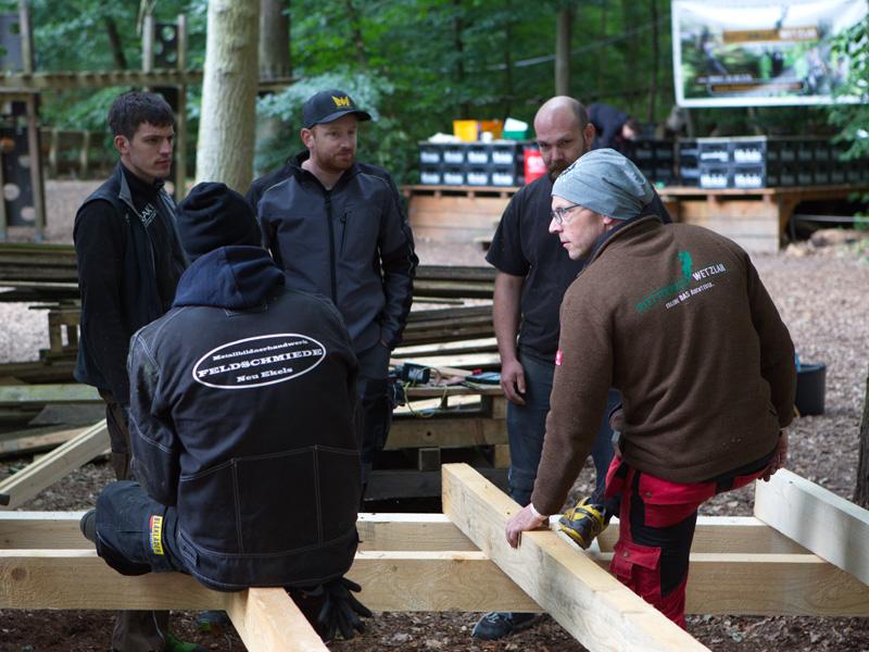 DIY Event im Kletterwald
