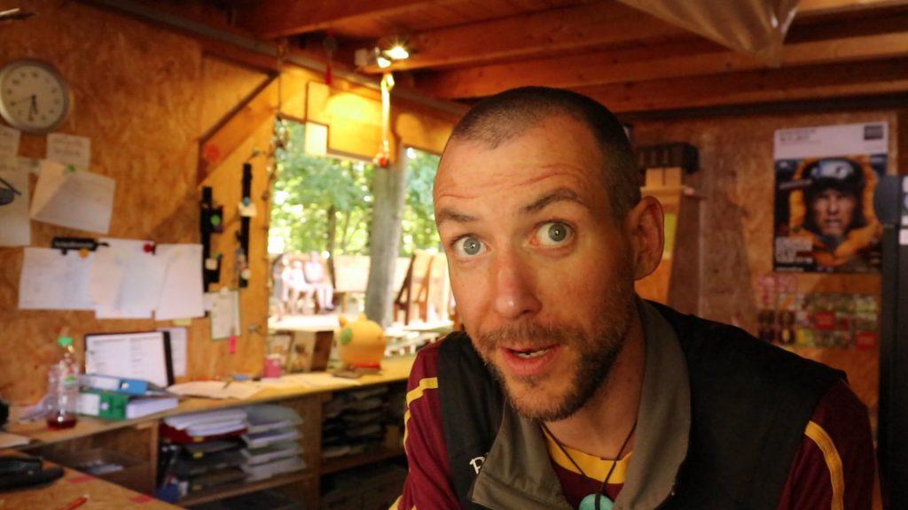 Woody aus dem Kletterwald