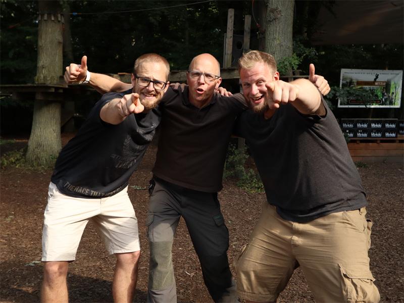 OCR Parcours mit Fabian und Patrick