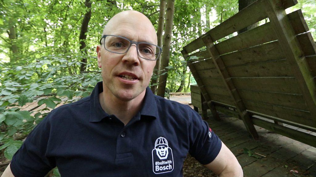 Serviceschrauber Simon aus dem Wald
